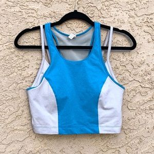 Under Armour Crop Top with Built in Sports Bra